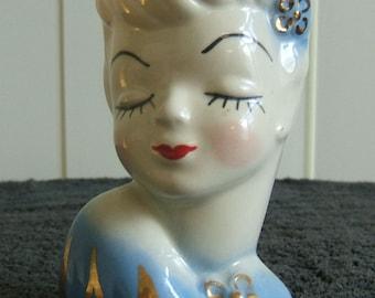 Glamour Girl Head Vase