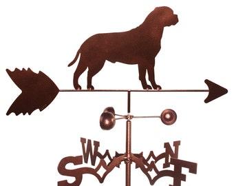 Hand Made Bull Mastiff Dog Weathervane NEW