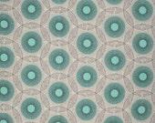 "LAST PIECE Free Spirit Fabric's, Joel Dewberry - Birch Farm Lighting Bugs (Egg Blue) 30"""