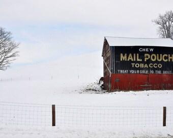 Fine Art Photo of 'Mail Pouch Marvel', near Blissfield, Ohio (IDOH2142)