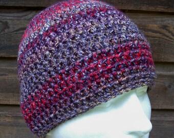 mens hat youth boys crochet beanie crochet hat beanie cap wild iris greys reds youth adult hats for men 9247