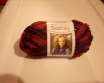 Red Heart Boutique Sashay Ruffle Yarn - Tango  # 1943