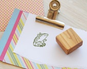 Warty Toad Olive Wood Stamp