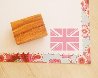Union Jack Olive Wood Stamp