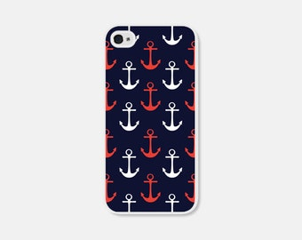 Nautical Phone Case Samsung Galaxy S7 Case Anchor iPhone 6 Case Anchor Phone Case Anchor iPhone 5 Case Anchor iPhone 5s Case iPhone 5c Case