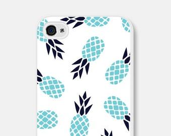 iPhone 6 Case Pineapple iPhone 5c Case Aqua iPhone 5 Case Pineapple iPhone 6 Plus Case Pineapple iPhone 5s Case Blue Turquoise