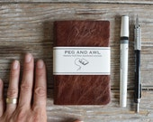 Medium Hand-Bound Journal by Peg and Awl