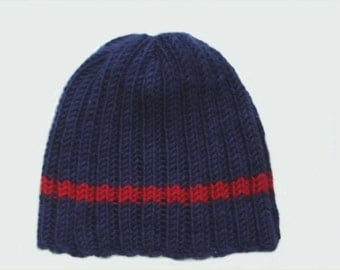 Mens Knitted Toque Pattern : Popular items for mens hat pattern on Etsy