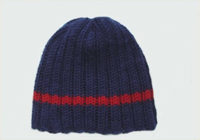 Mens Hats Knitting Patterns : Hat KNITTING PATTERN Classic Mens Hat pattern PDF