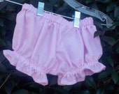 Gingham bloomers panties toddler bloomers made to match dresses