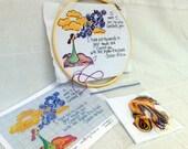 Cross Stitch Kit - Scripture Themed - 'My Words'
