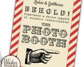 Instant Download - Photo Booth 18x24 Poster - Circus