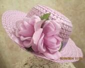 Lavender Easter Hat - Girls Lavender Hat - Lavender Church Hat - Girls Easter Hat - Derby Hat