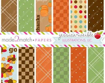 Pilgrim Kids Cute Digital Backgrounds - Commercial Use OK - Thanksgiving Papers, Thanksgiving Backgrounds