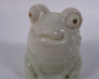 "Vintage Avon Frog ""Moonwind Cream Sachet"""