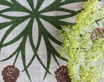 Vintage Swedish Screenprints: Allium Kaleidoscope