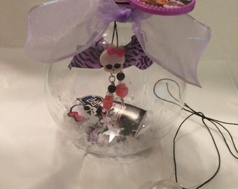 Monster High Clawdeen Wolf ornament, and necklace or charm, Birthday, Christmas any occasion