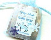 8 Fragrance WINTER Hand Cream Scents Sampler Set - HAPPY HANDS  for Knitters Shea Butter Hand Cream
