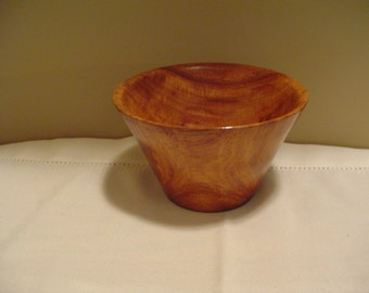Bowl Hand Crafted from South American Rosewood