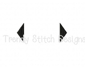 Diamond Ends Applique Design Machine Embroidery Design INSTANT DOWNLOAD