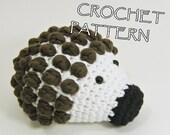Amigurumi toy hedgehog crochet pattern English and Dutch pdf tutorial