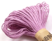 Colored String - 20 Yards of SOLID colored LAVENDER PURPLE - for crafting, gift wrapping, packaging