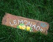 Antique Barn Shingle Sign       Fresh LEMONADE
