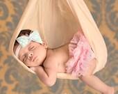 Let Love Grow - Single Bow Baby Headband
