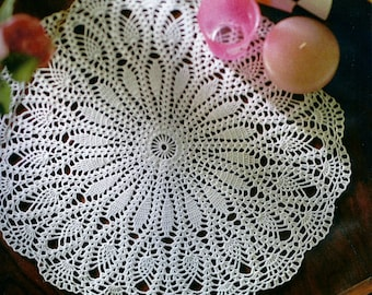 Crocheted Doily - Mayweed free shipping