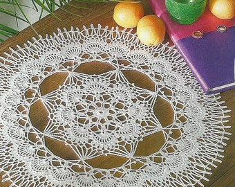 Crocheted Doily - Relax time free shipping