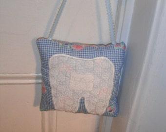 Tooth Fairy Child's Pillow / Handmade Pillow / Pillow / Tooth Fairy / Handmade Gifts / Childrens Gifts