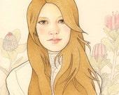 Custom LARGE Portrait by Lilly Piri