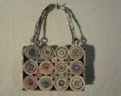 OLIVIA my recycled paper unique purse handbag