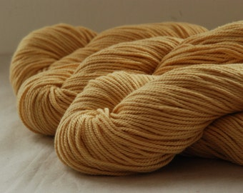 LIGHT BUTTERSCOTCH - Pure Cotton Yarn 100gr Color 4
