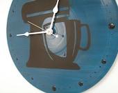 Kitchen Aid Clock Dark Blue