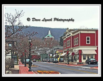 Christmas At The Homestead - Hot Springs VA  - Fine Art Photography print by Dave Lynch - Free Shipping on any additional purchase