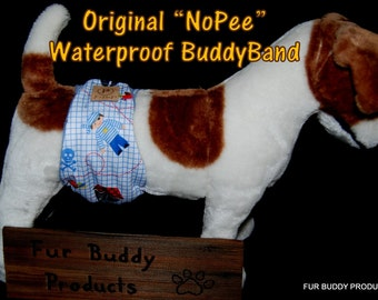 "Original ""NO-Pee"" Waterproof  BuddyBand Diaper with Pul and Zorb..All Sizes"