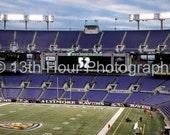 Baltimore Ravens Stadium Ray Lewis Last Game Art Print