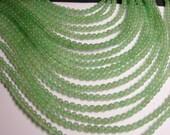 Green Aventurine 4mm round beads -1 full strand - A quality -  93 beads - AVA1