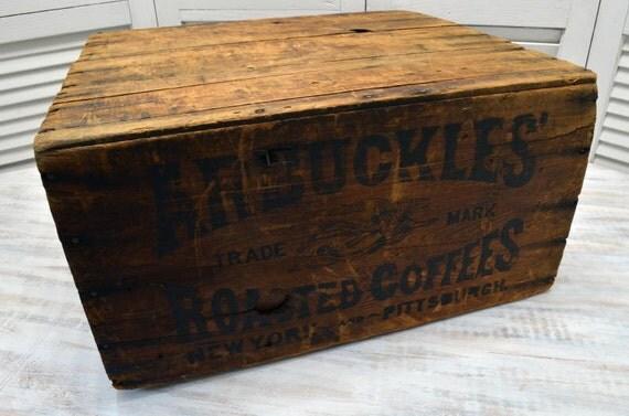 Antique Arbuckle Coffee Box