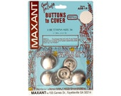 Buttons to Cover Maxant Size 36 Refill Half Ball 7/8""