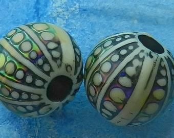 Sea Orb  Mirage Color Change Mood Beads