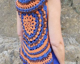 Crochet patterns circular vests or bolero - haakpatronen cirkelvestjes of bolerootje