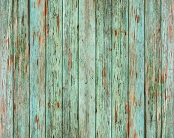 Photography Wood Backdrop Floordrop turquoise  Wood