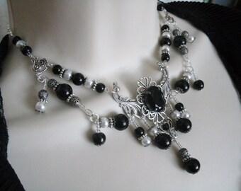 Victorian Necklace, victorian jewelry gothic jewelry  art deco jewelry art nouveau edwardian renaissance medieval goth neo victorian tudor