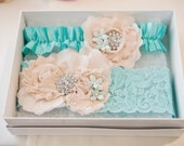 Bridal Garters Custom Designed to fit your Wedding Theme and Colors