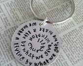 Custom Keychain for Penny Stubbs