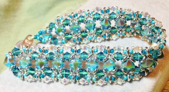PATTERN O Darlings bracelet O beads crystals RAW