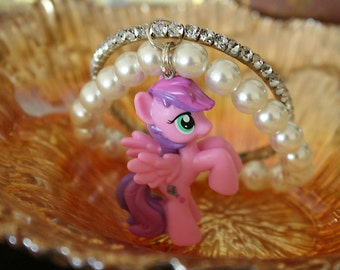 Skywishes my little pony elastic bracelet