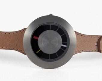 Veg Tan Minimalist Watch - Orbital